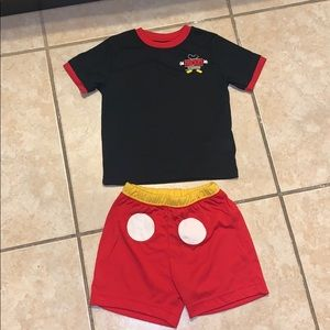 Mickey Mouse pijamas size 4